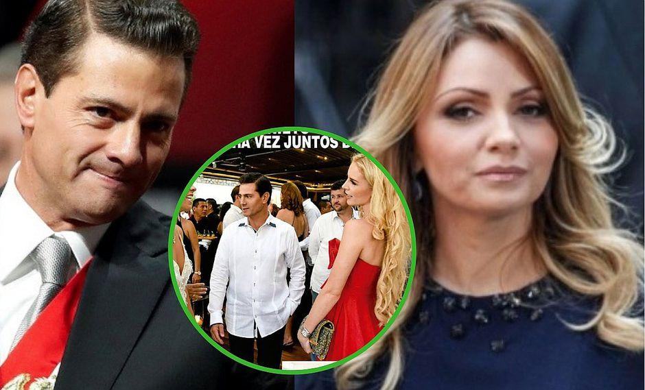 Enrique Peña Nieto olvida a Angélica Rivera y se luce con su nueva novia en lujosa boda (FOTOS)