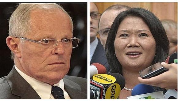 Keiko Fujimori se pronuncia luego que PPK se salvara de la vacancia