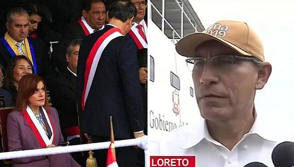Martín Vizcarra habla sobre su actual relación con Mercedes Aráoz tras proyecto de adelanto de elecciones