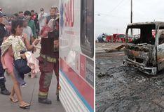 Villa El Salvador: confirman que niña de 9 años es la segunda fallecida por explosión de camión
