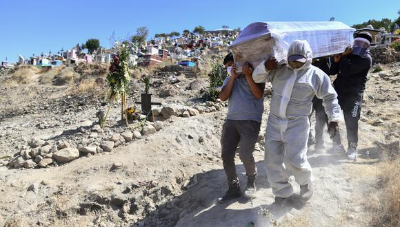Países como el Perú han sido especialmente golpeados en muertes por millón. (Foto: Diego Ramos / AFP)