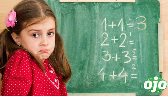 Para que los niños tomen con seriedad esta asignatura, es necesario que desde pequeños se vean incentivados a aprender matemáticas de manera lúdica.