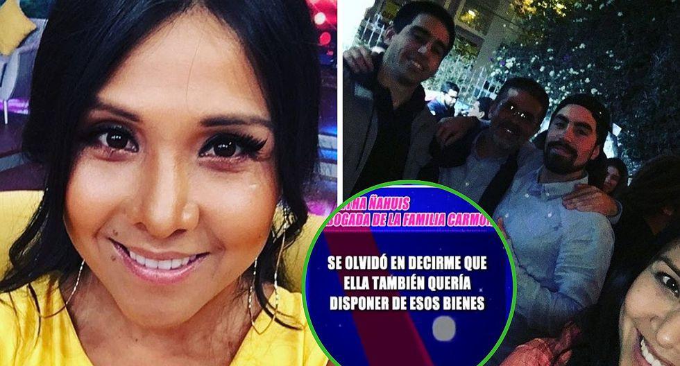 Abogada de los hijos de Javier Carmona afirma que Tula RodrÍguez no solo pretende la administración (VIDEO)