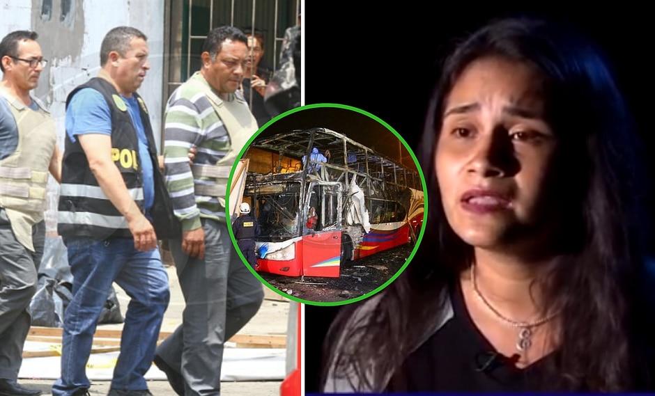 """Hija del chofer de bus Sajy sale en su defensa: """"culpan al eslabón más débil"""" (VIDEO)"""