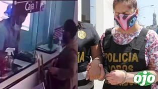 """Recapturan a """"Mujer Bomba"""", quien asaltó clínica Anglo Americana con falso explosivo"""