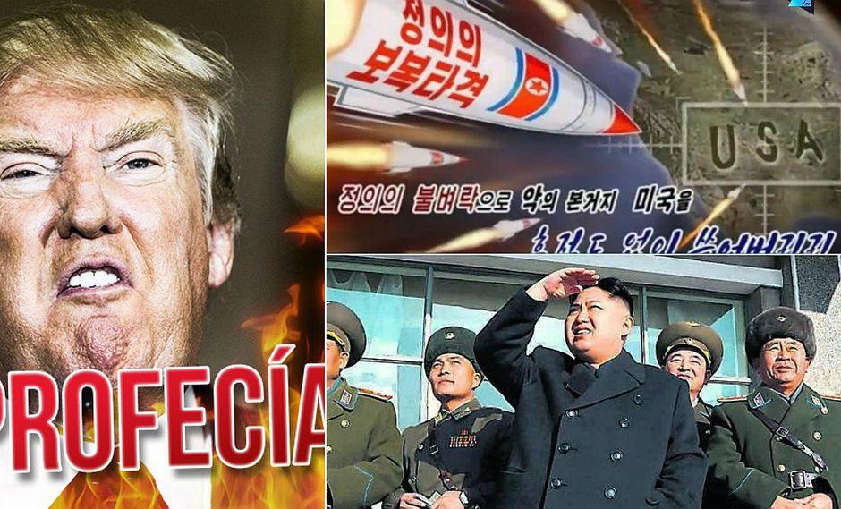 Estados Unidos vs. Corea del Norte: Donald Trump pone en la mira así a Kim Jong-un