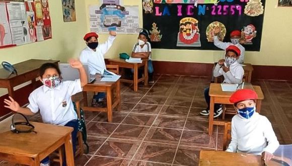 Arequipa: Especialistas del área de gestión pedagógica iniciaron las indagaciones tras intervenir las instituciones educativas donde se desarrollaban clases escolares. (Foto: Difusión)