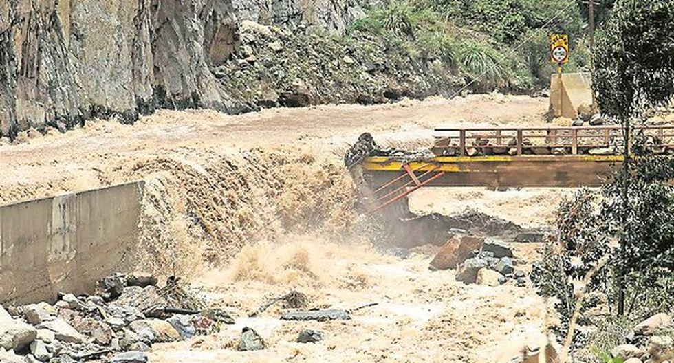 Carretera Central: Desborde del río Rímac afecta nuevamente el tránsito