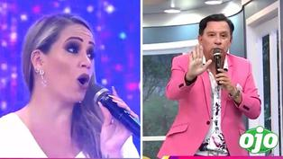 """Melissa Klug 'cuadra' a Ricardo Rondón en vivo: """"¿Quién te dice algo cuando te ven con niñas con DNI amarillo"""""""