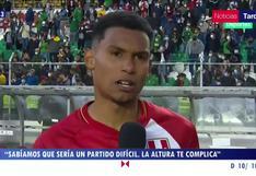 """Marcos López tras derrota: """"Ahora vamos a Argentina y lo vamos a dar todo"""""""