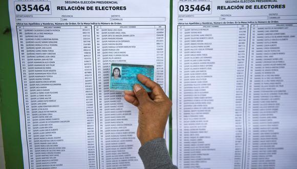 El proceso electoral del 11 de abril se desarrollará en plena pandemia por el COVID-19, así que se debe evitar las aglomeraciones. (Foto: Ernesto Benavides / AFP)