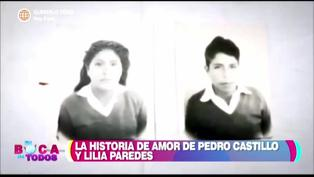 Conoce la historia de amor de Pedro Castillo y su esposa Lilia Paredes