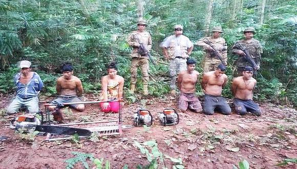 Peruanos son detenidos por talar ilegalmente bosques de Bolivia