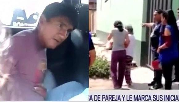 Chiclayo: sujeto abusa de pareja y le marca sus iniciales con encendedor (VÍDEO)