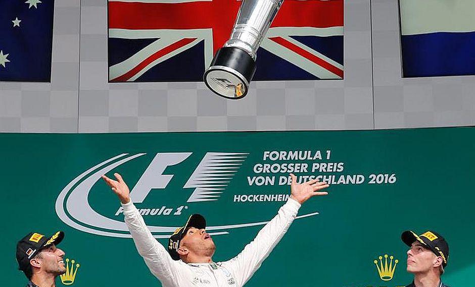 Fórmula 1: Lewis Hamilton vence y saca 19 puntos a Nico Rosberg