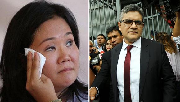 """Keiko Fujimori no declaró ante José Domingo Pérez: """"haré valer mi derecho de guardar silencio"""""""
