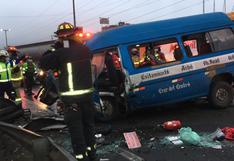 Accidentes de tránsito van dejando 1309 fallecidos y 1667 lesionados a nivel nacional