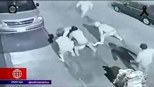 Delincuente es capturado por vecinos tras intentar robar el celular a una joven