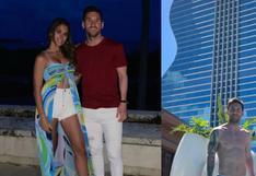 Lionel Messi y Antonella Roccuzzo: las instantáneas de su viaje tras la Copa América   FOTOS