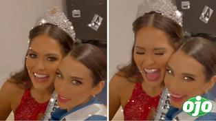 Janick Maceta comparte video con la Miss Universo mexicana Andrea Meza tras la coronación | VIDEO