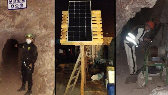 Tacna: Intervienen dos campamentos de minería ilegal en distrito de Sama Inclán (Foto: Tacna)