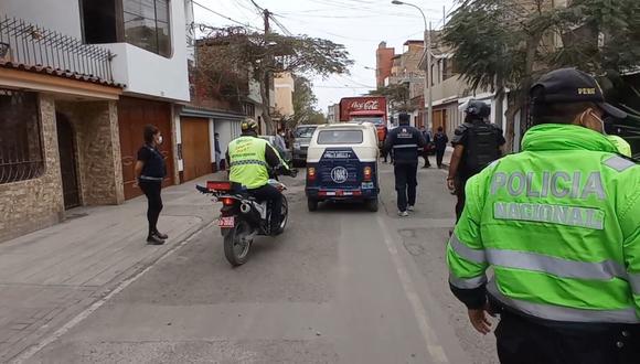 Serenos cumplen con evitar el transporte informal en el distrito. (Municipalidad de Surco)