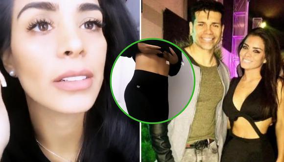 "Vanessa López, expareja de ""Tomate"" Barraza, muestra su pancita de embarazada│VIDEO"