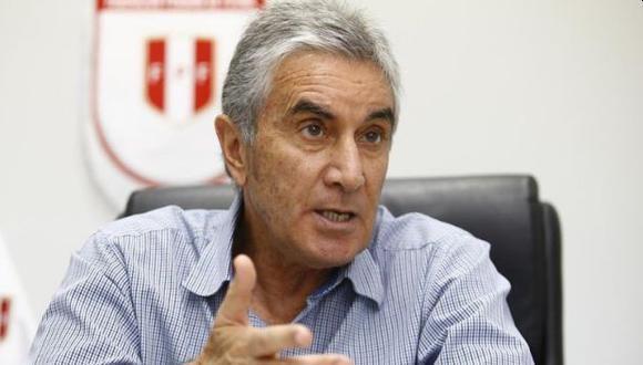 Juan Carlos Oblitas habló del caso de André Carrillo. (Foto: GEC)
