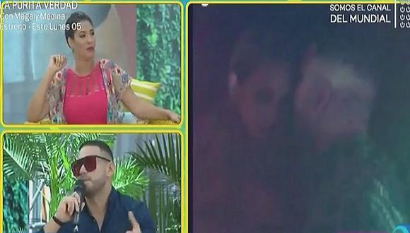Coto Hernández habla tras video donde se le ve bien juntito a Melissa Klug