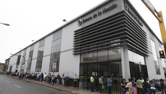 Aprueban creación de cuenta de ahorros solo con el DNI para todos los ciudadanos. (Foto: Andrés Paredes / @photo.gec)