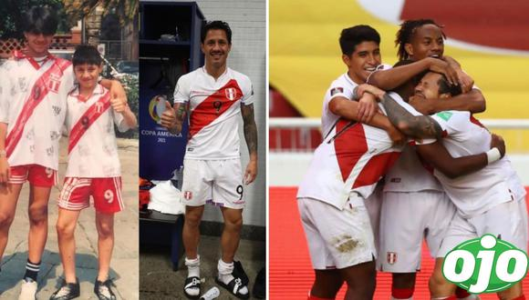 Gianluca Lapadula tras marcar su primer gol con la Selección peruana. Foto: (Instagram/@gianluca_lapadula_offici)