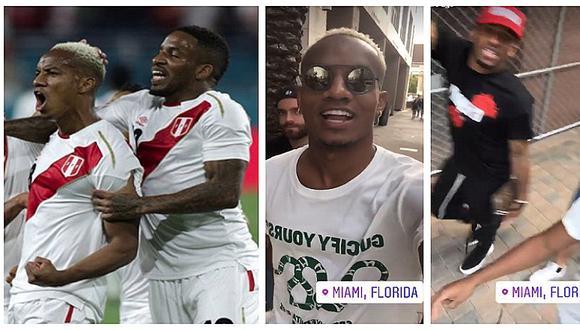 André Carrillo comparte lo que hizo con Jefferson Farfán tras ganar a Croacia (VIDEOS)