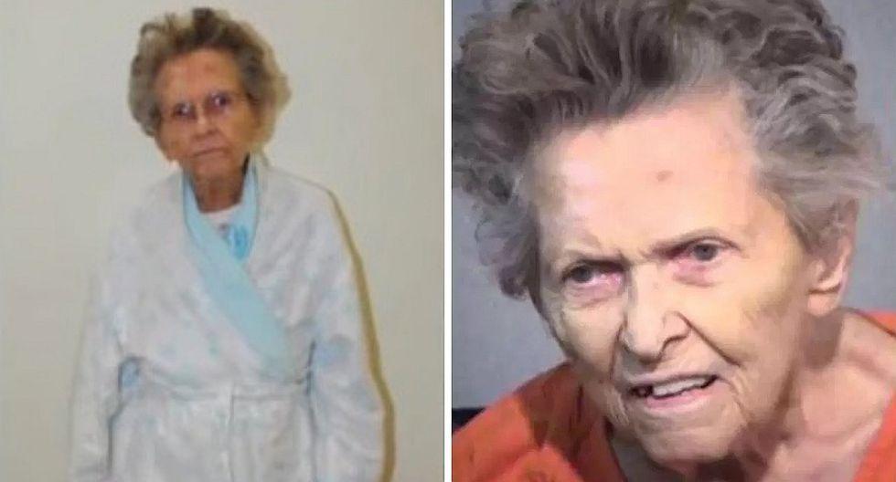 Abuela asesina a su hijo porque la quería llevar a un asilo