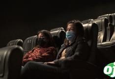 Cines: Exigirán carné de vacunación completa contra el COVID-19 para ingresar a las salas