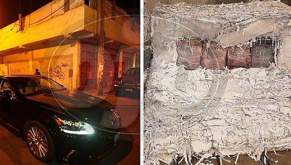 PNP da duro golpe al narcotráfico incautando 800 kilos de droga oculta en papeles (FOTOS)