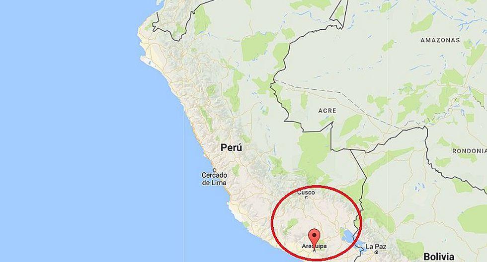 Sismo de 4.5 grados se registró en Arequipa