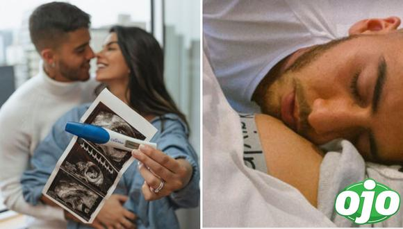 Ivana Yturbe enternece las redes con fotografía de Beto Da Silva besando su pancita. Foto: (Instagram/@ivanayturbe)