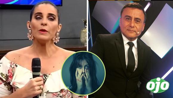 Panelista de Laura Borlini,  Jaime Terán    Captura de pantalla Panamerica TV