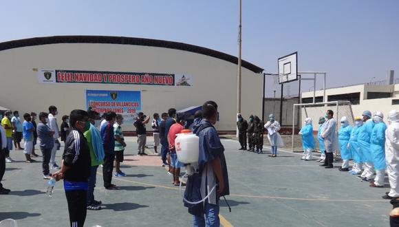 INPE informó que 70 reclusos del penal Varones Trujillo vencieron al COVID-19. (Foto: INPE)
