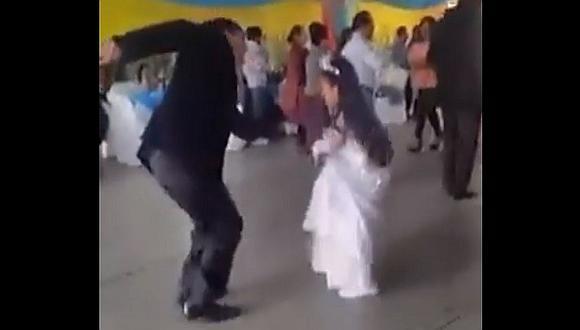 Facebook: Niña zapatea así típico huaylarsh en su bautizo y se hace viral