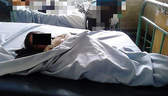Padrastro tira agua hervida a su hijastra de 7 años y queda hospitalizada de gravedad