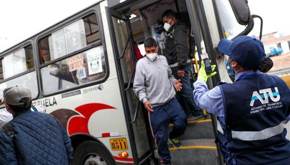 ATU intensificó sus acciones de fiscalización en paraderos estratégicos de Lima. (Foto: ATU)