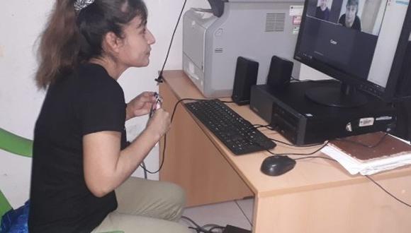 Piura: las internas que cumplan un buen comportamiento, y muestren avances en el proceso del tratamiento resocializador, participaran de las visitas virtuales. (Foto: Inpe)