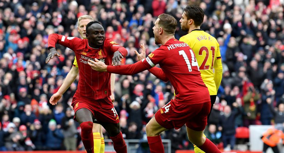 Sadio Mané - 35 goles con 63 partidos / 31 goles con Liverpool y 4 con Senegal  (Foto: AFP)