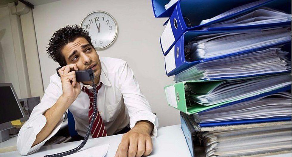 5 enfermedades que puede provocar el exceso de trabajo