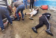 SMP: Tras persecución y balacera capturan a banda que irrumpió en car wash y cerró la puerta para asaltar a clientes
