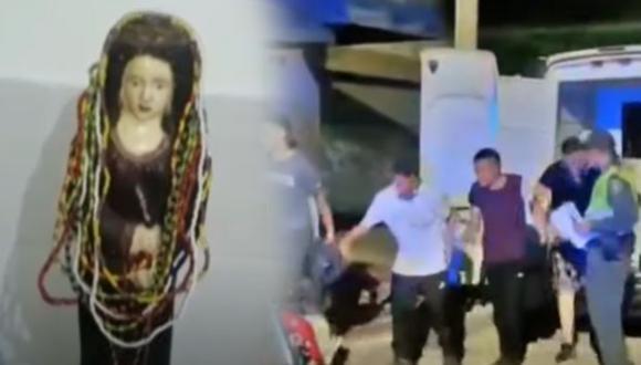 Los ladrones practicaban la santería para no ser detectados por la policía. (Foto: Composición)