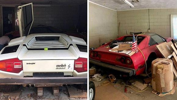Te sorprenderás de lo que encontraron en el garaje de una abuelita