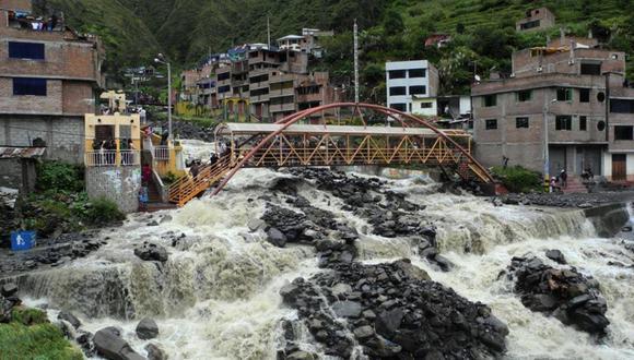 Ingemmet identifica 114 zonas en riesgo por inundaciones, deslizamientos y huaicos que ponen en riesgo a más de 51 mil habitantes en 11 regiones del país. (Foto Archivo GEC)