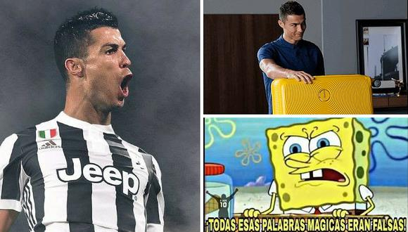 Los más graciosos memes de la partida de Cristiano Ronaldo a la Juventus
